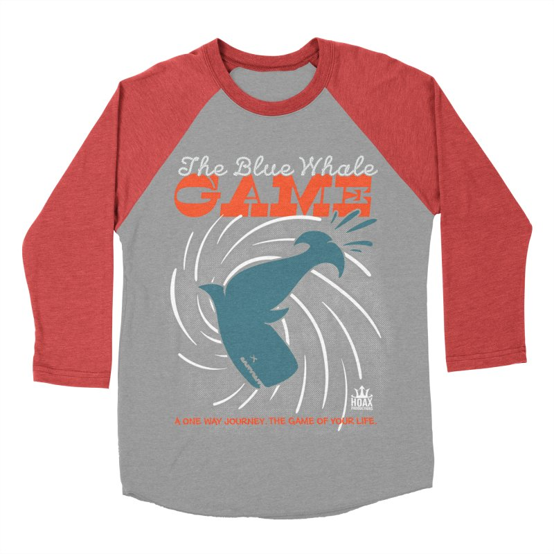 The Blue Whale Game Men's Baseball Triblend T-Shirt by Opippi