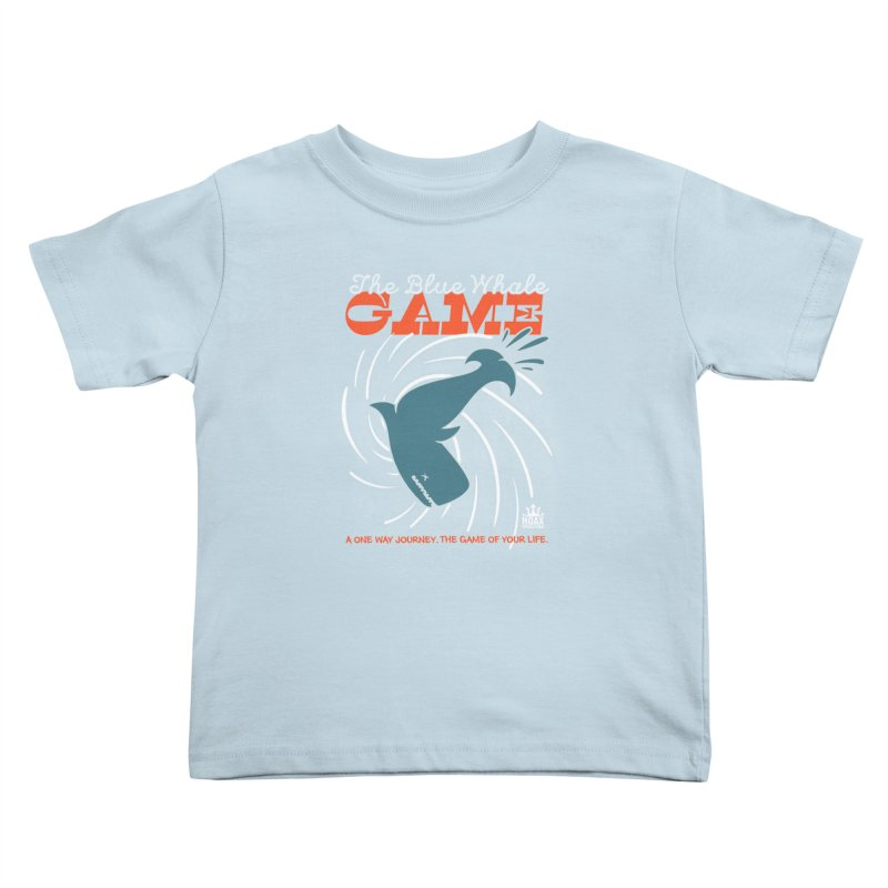 The Blue Whale Game Kids Toddler T-Shirt by Opippi
