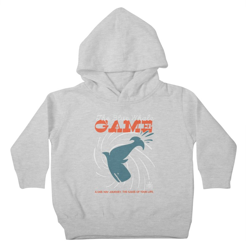The Blue Whale Game Kids Toddler Pullover Hoody by Opippi