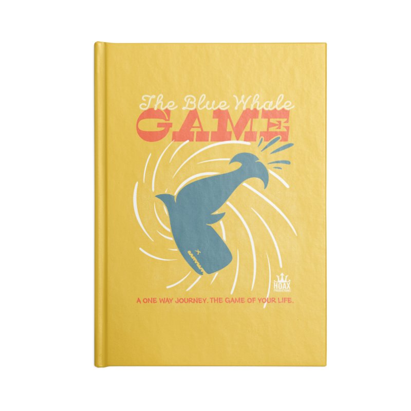 The Blue Whale Game Accessories Notebook by Opippi