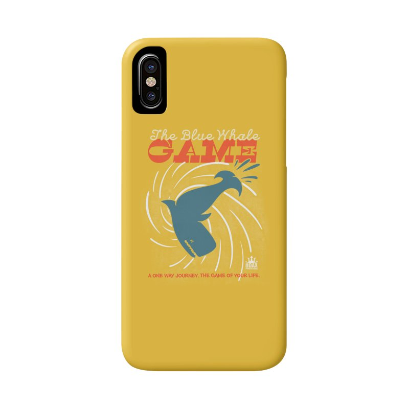 The Blue Whale Game Accessories Phone Case by Opippi