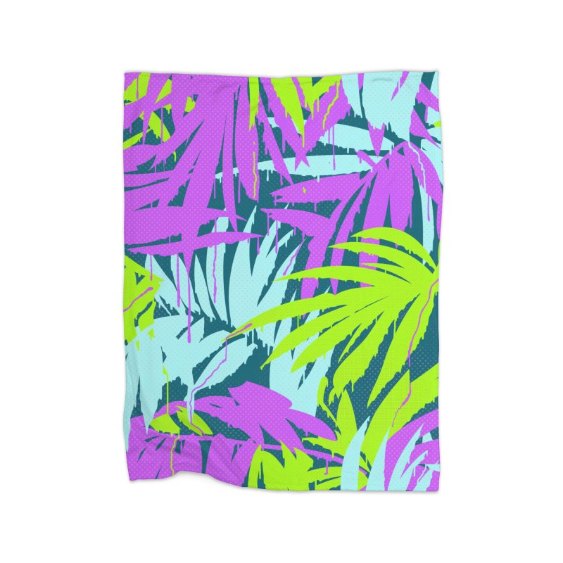 Tropicalia Home Blanket by Opippi