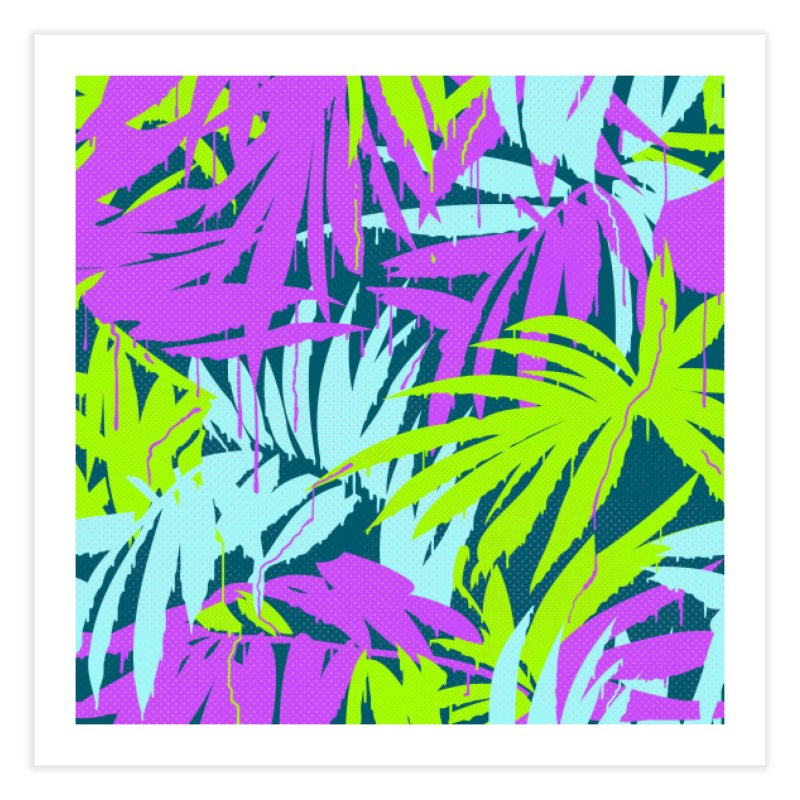Tropicalia Home Fine Art Print by Opippi
