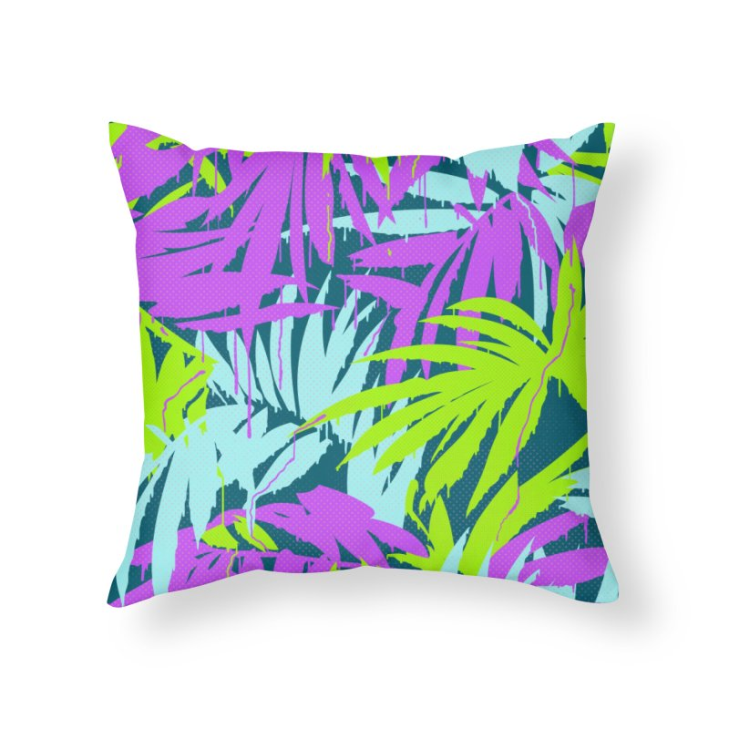 Tropicalia Home Throw Pillow by Opippi