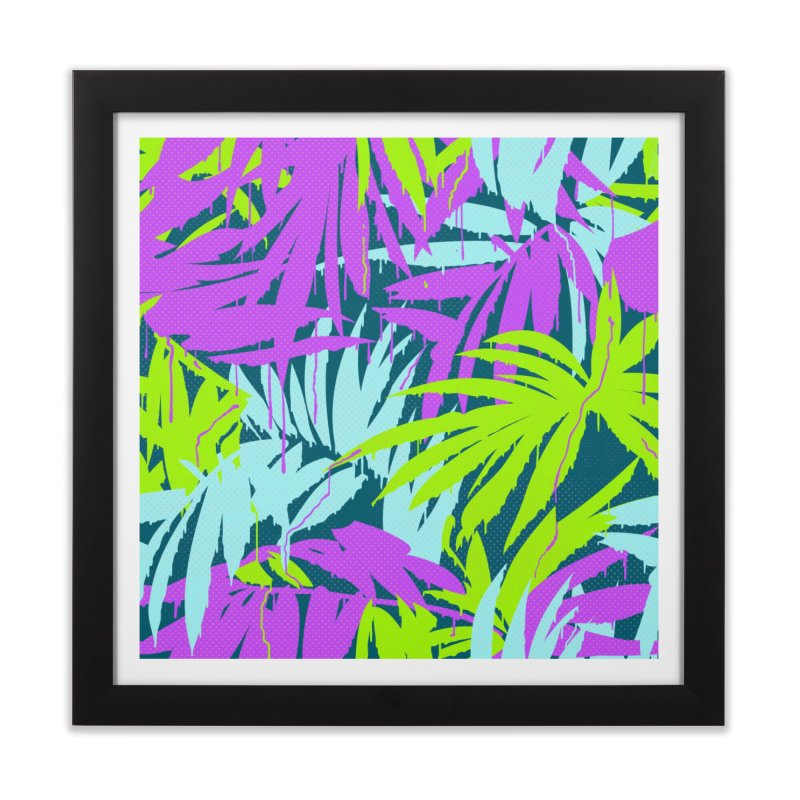 Tropicalia Home Framed Fine Art Print by Opippi