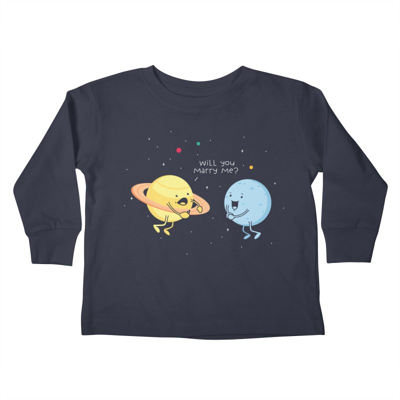 Will you marry me? Kids Toddler Longsleeve T-Shirt by Opippi