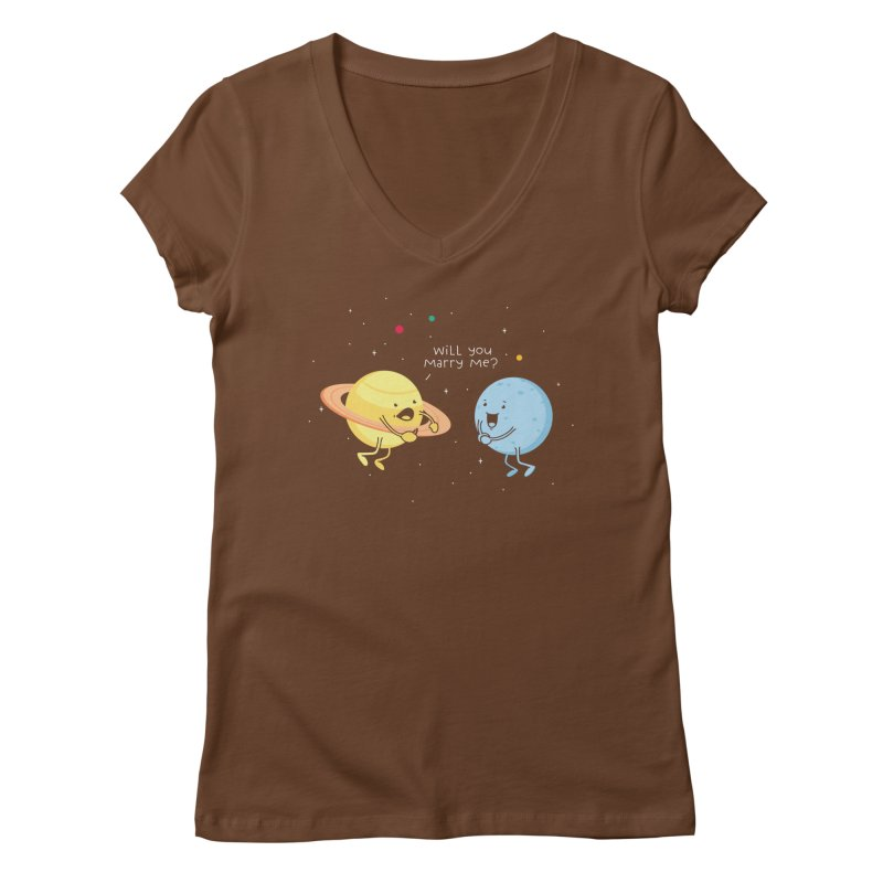 Will you marry me? Women's V-Neck by Opippi