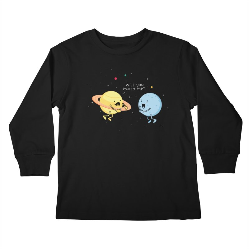 Will you marry me? Kids Longsleeve T-Shirt by Opippi