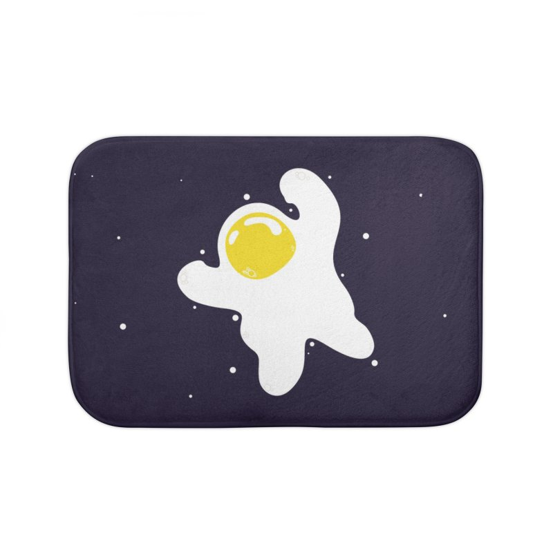 Fried Egg Odyssey Home Bath Mat by Opippi