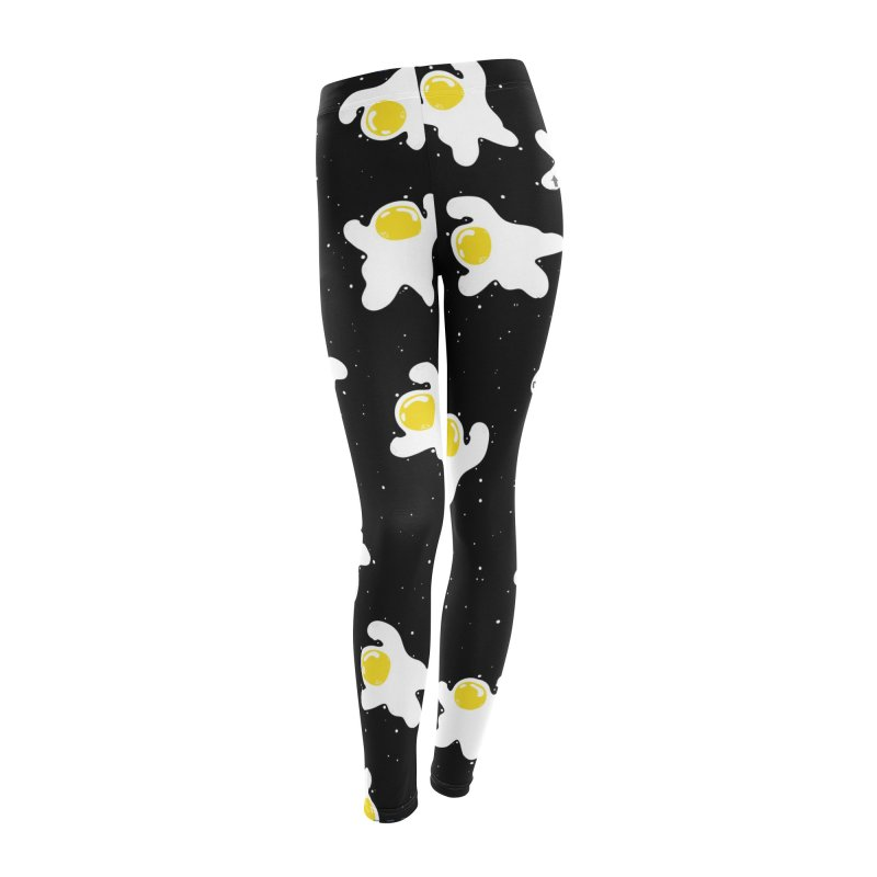 Fried Egg Odyssey Women's Leggings Bottoms by Opippi