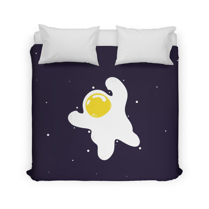 Fried Egg Odyssey Home Duvet by Opippi