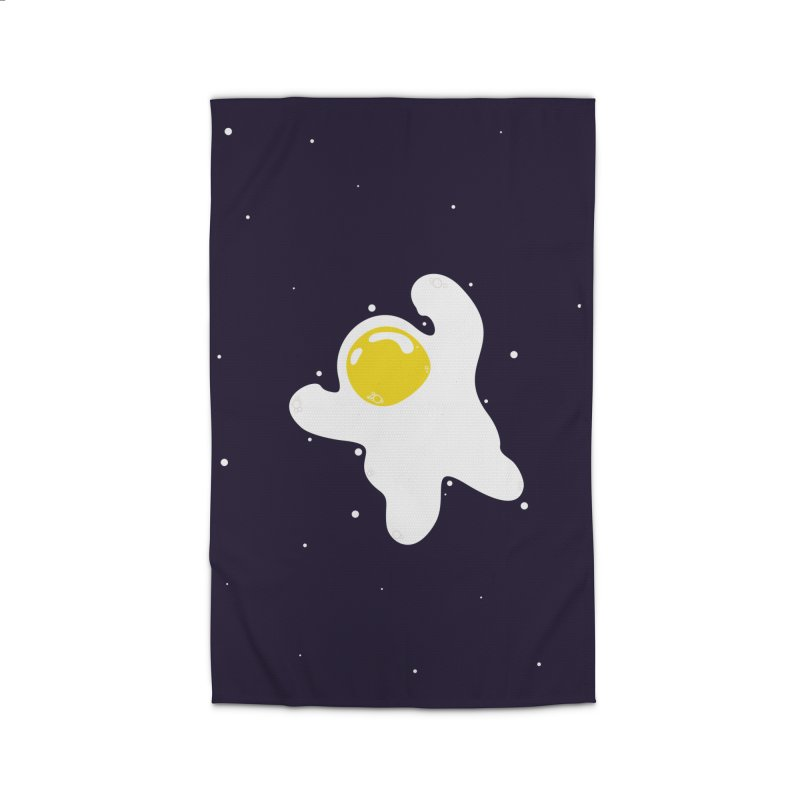 Fried Egg Odyssey Home Rug by Opippi
