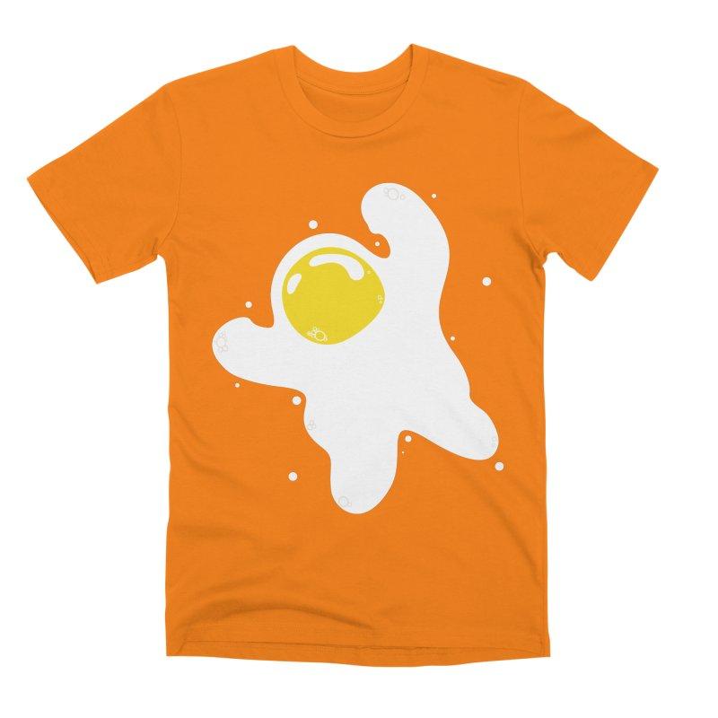 Fried Egg Odyssey Men's T-Shirt by Opippi