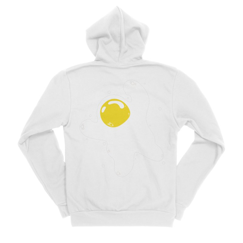 Fried Egg Odyssey Women's Zip-Up Hoody by Opippi