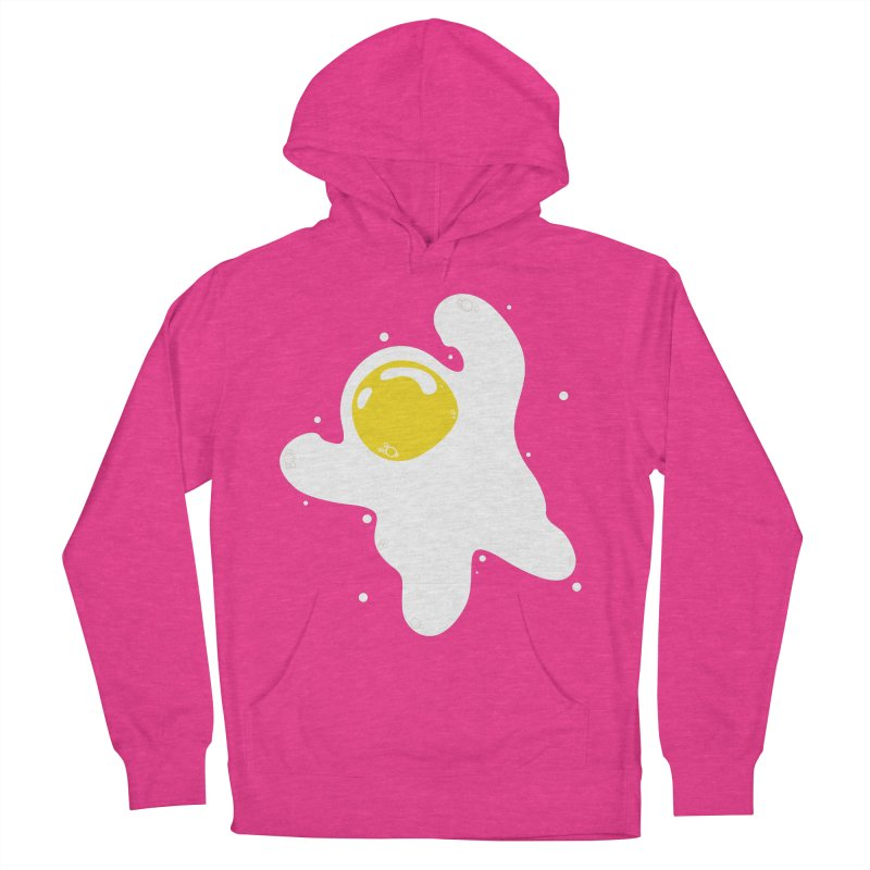 Fried Egg Odyssey Men's French Terry Pullover Hoody by Opippi