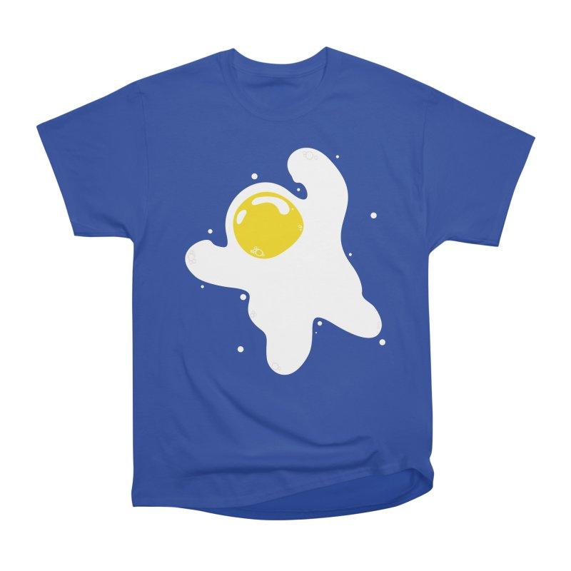 Fried Egg Odyssey Women's Heavyweight Unisex T-Shirt by Opippi