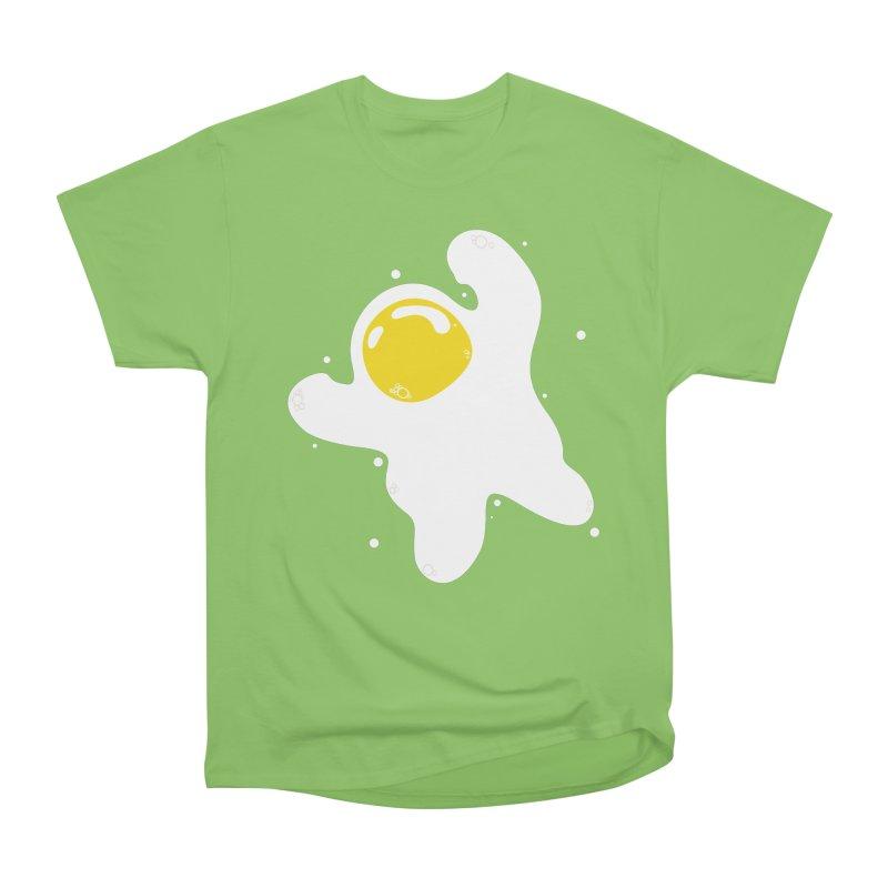 Fried Egg Odyssey Men's Heavyweight T-Shirt by Opippi