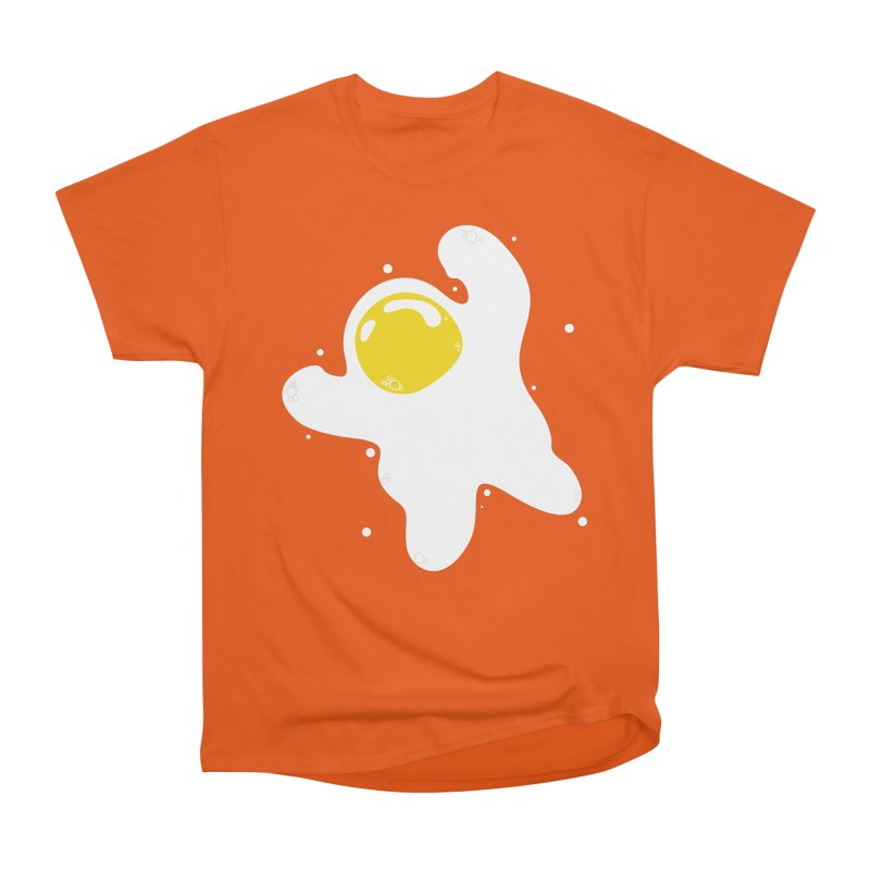 Fried Egg Odyssey Women's Heavyweight Unisex T-Shirt by Opippi