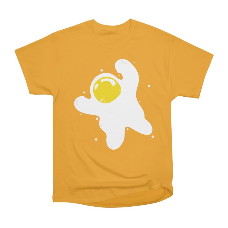 Fried Egg Odyssey Men's Heavyweight T-Shirt by Opippi