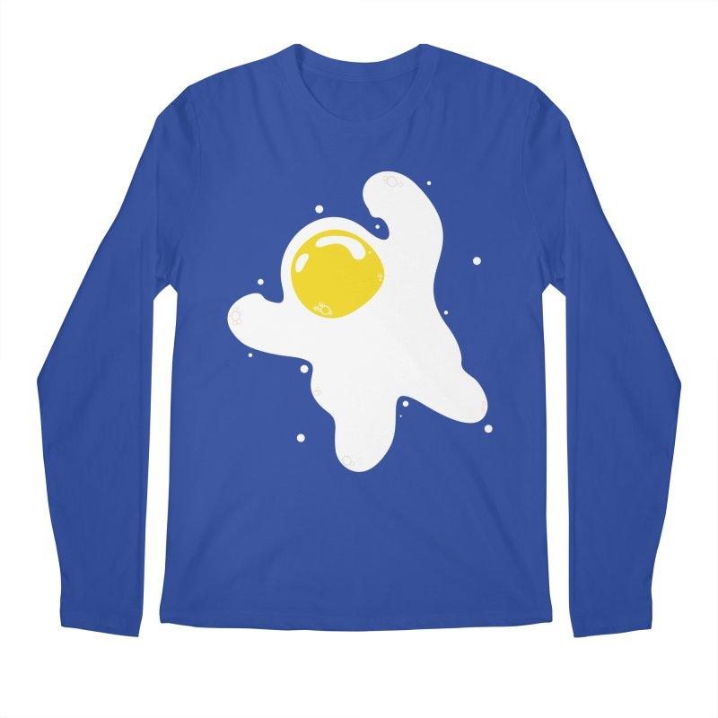 Fried Egg Odyssey Men's Regular Longsleeve T-Shirt by Opippi