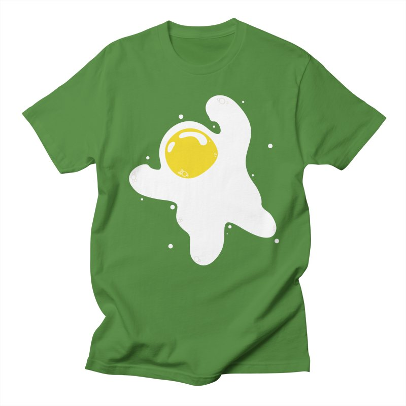 Fried Egg Odyssey Men's Regular T-Shirt by Opippi
