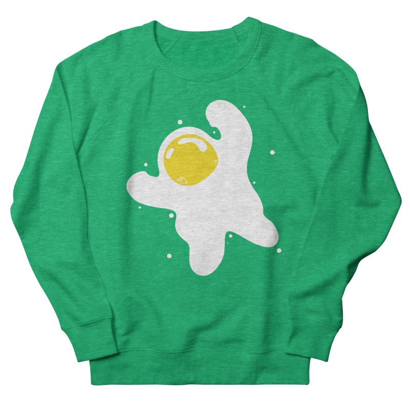 Fried Egg Odyssey Men's French Terry Sweatshirt by Opippi
