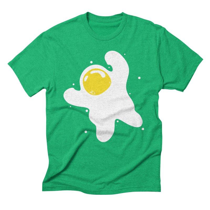 Fried Egg Odyssey Men's Triblend T-Shirt by Opippi