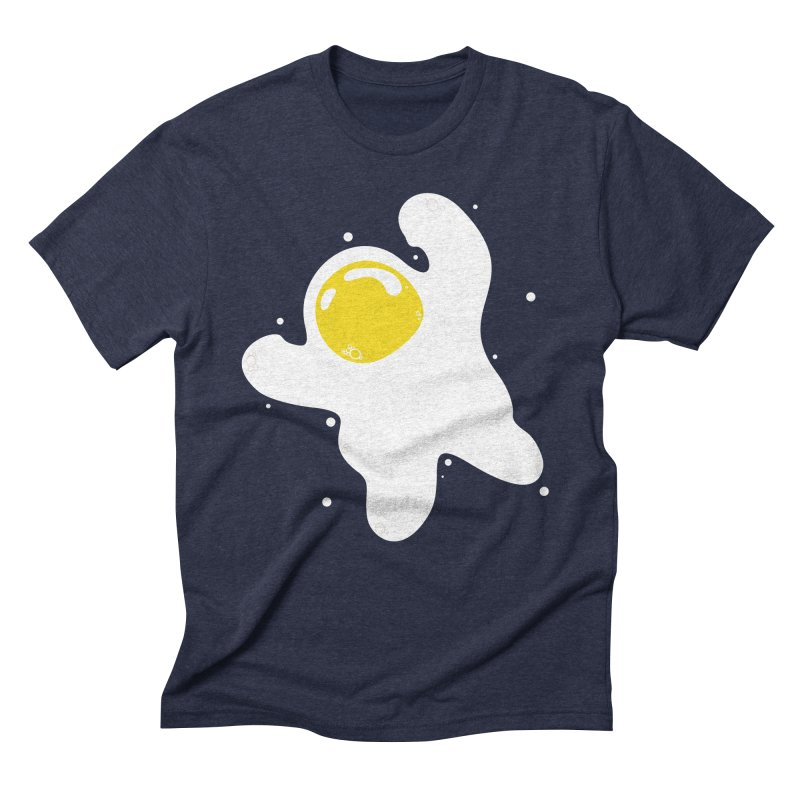 Fried Egg Odyssey Men's Triblend T-Shirt by Opippi