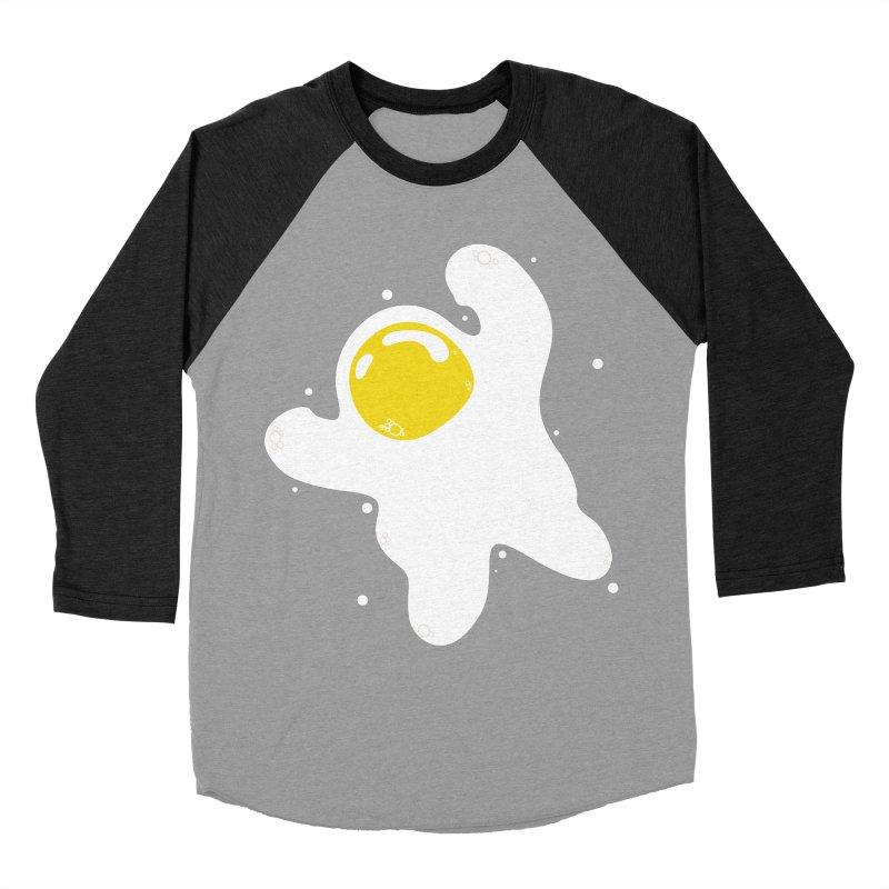 Fried Egg Odyssey Women's Baseball Triblend Longsleeve T-Shirt by Opippi