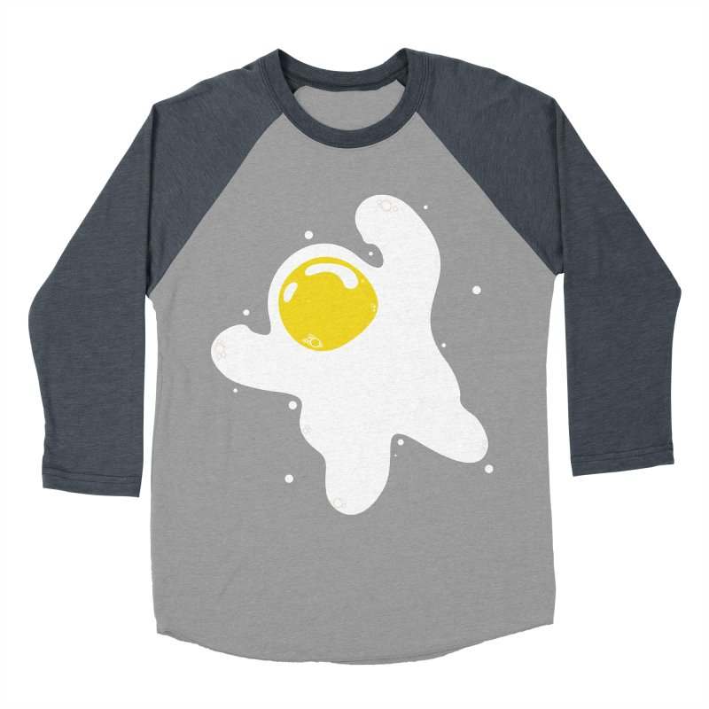 Fried Egg Odyssey Women's Baseball Triblend Longsleeve T-Shirt by Opippi