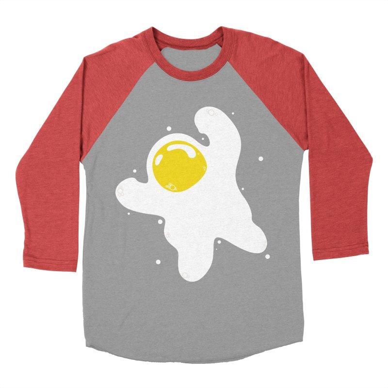 Fried Egg Odyssey Men's Baseball Triblend Longsleeve T-Shirt by Opippi