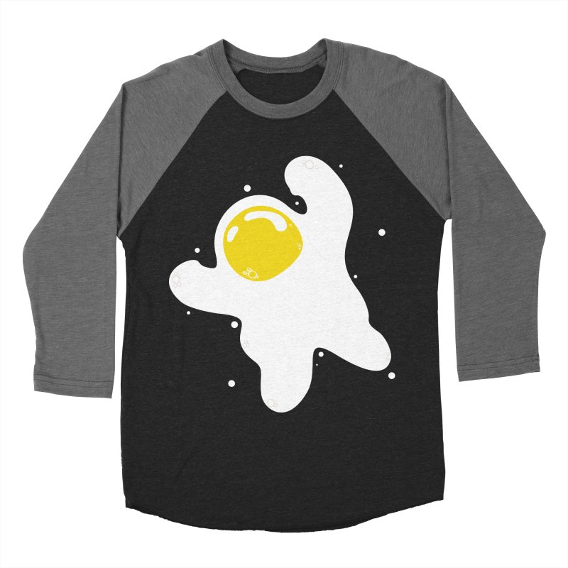 Fried Egg Odyssey Men's Baseball Triblend T-Shirt by Opippi