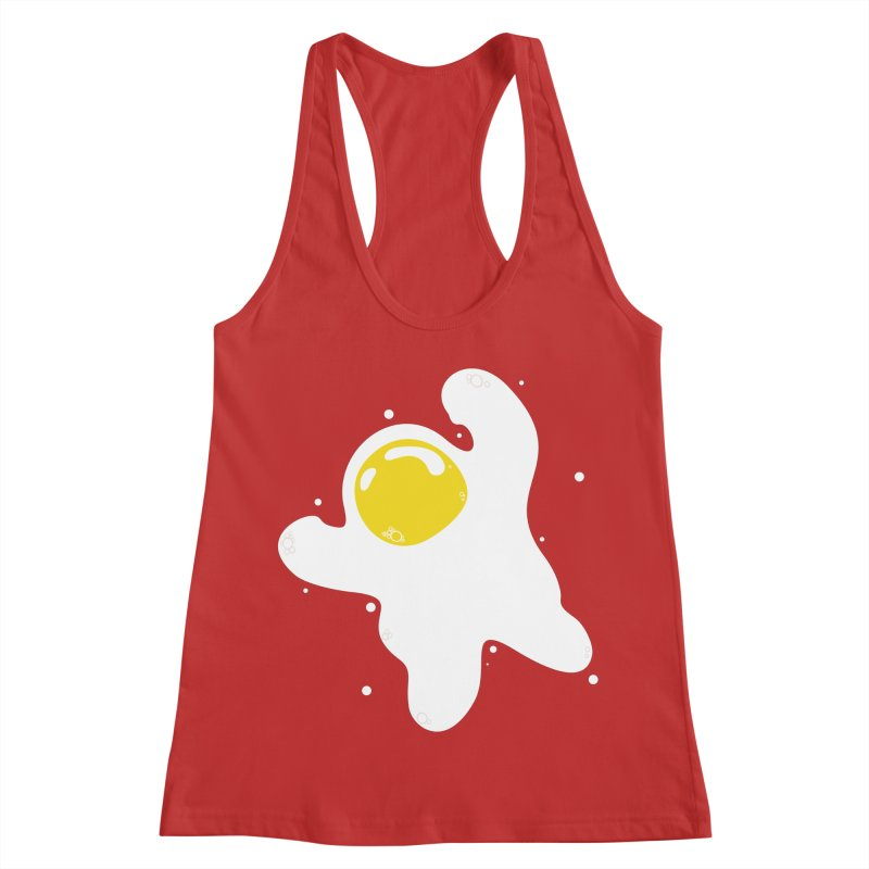 Fried Egg Odyssey Women's Tank by Opippi