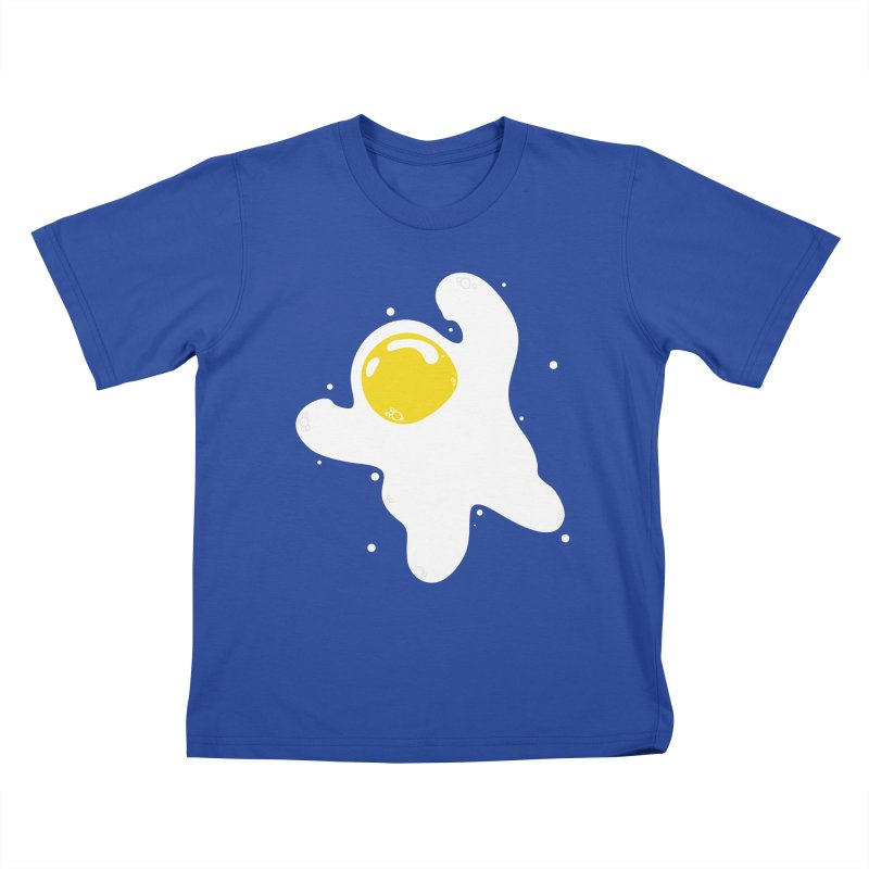 Fried Egg Odyssey Kids T-Shirt by Opippi