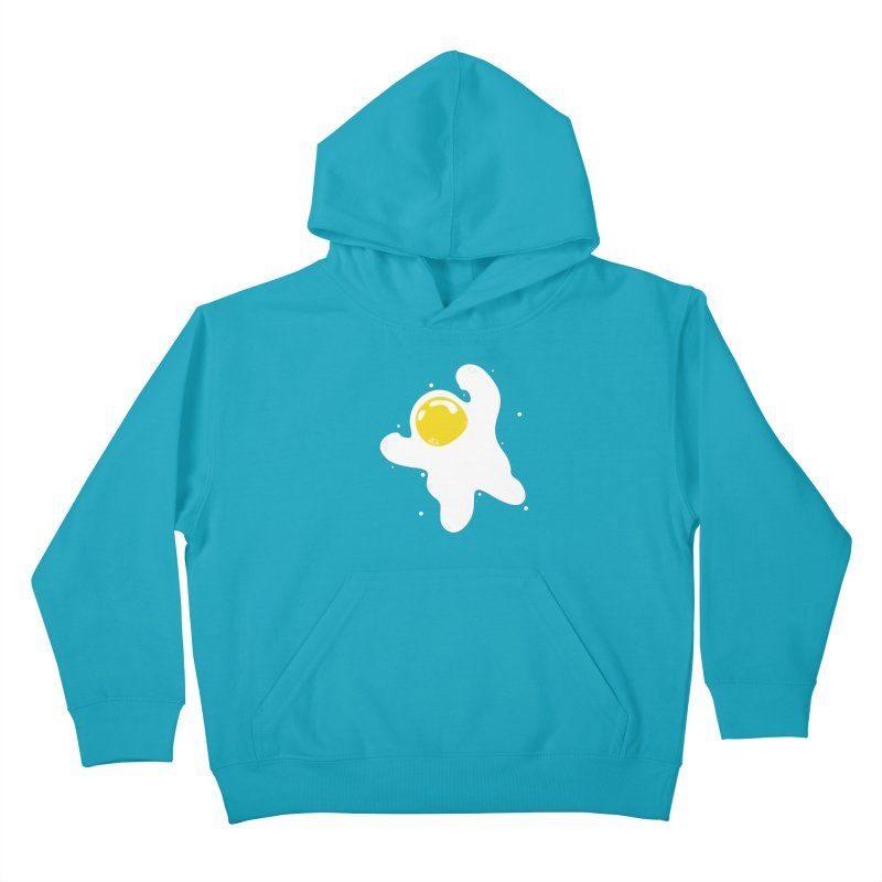 Fried Egg Odyssey Kids Pullover Hoody by Opippi