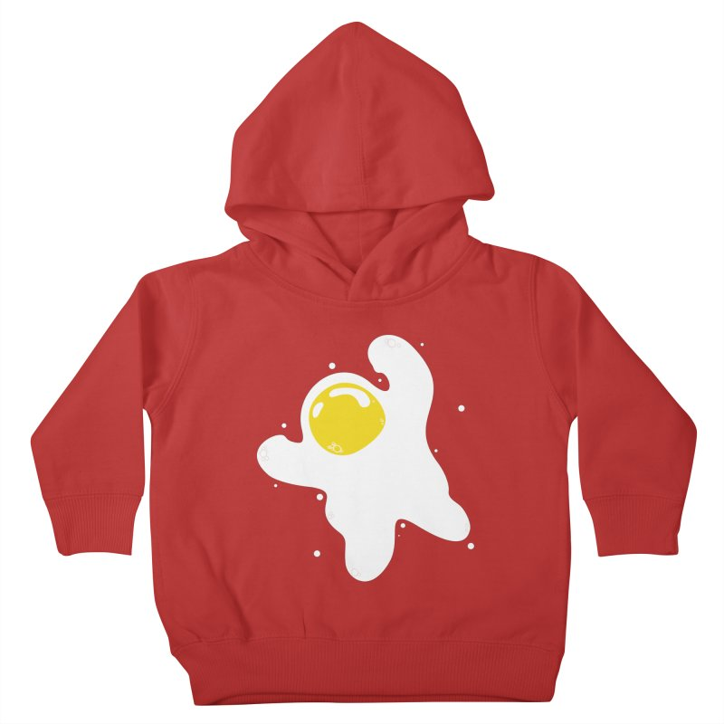 Fried Egg Odyssey Kids Toddler Pullover Hoody by Opippi