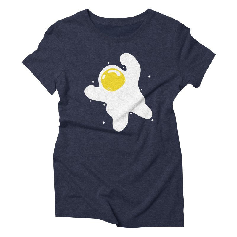 Fried Egg Odyssey Women's T-Shirt by Opippi