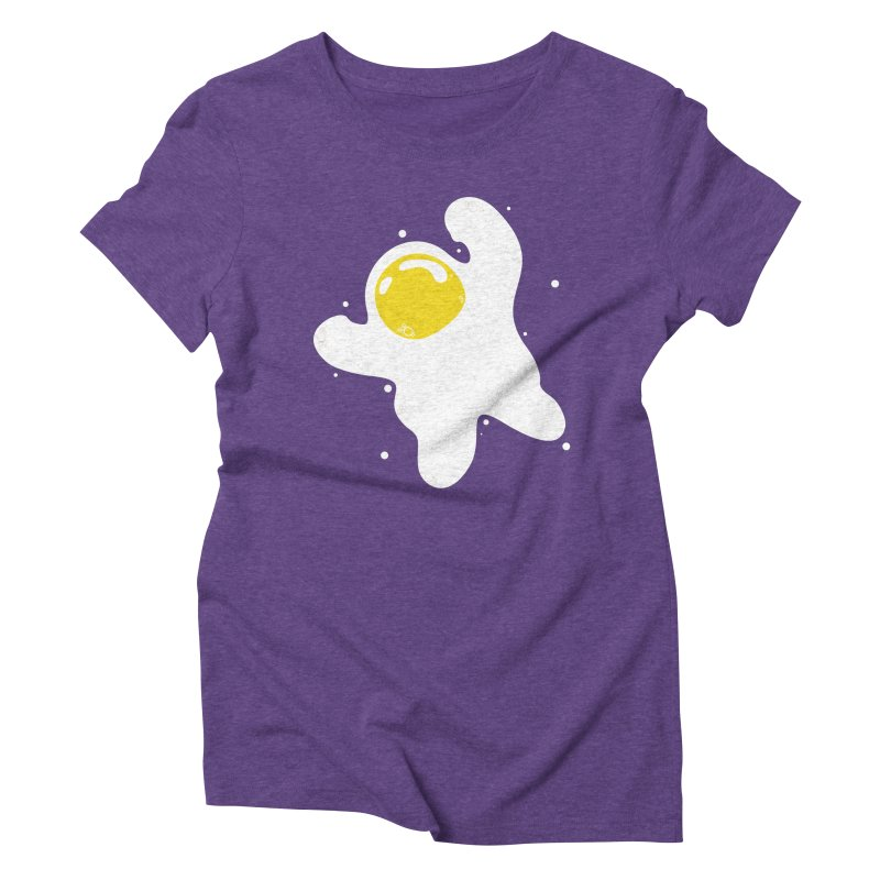 Fried Egg Odyssey Women's Triblend T-Shirt by Opippi