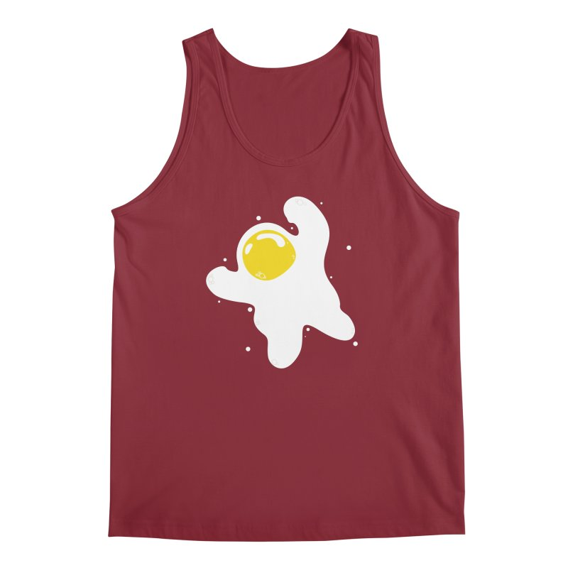 Fried Egg Odyssey Men's Regular Tank by Opippi