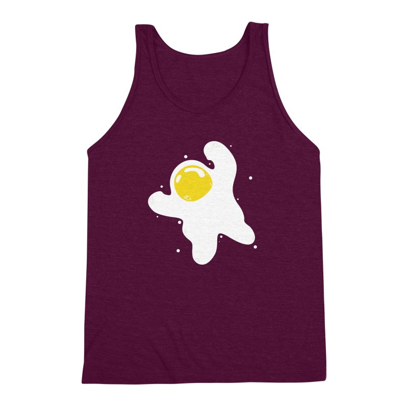 Fried Egg Odyssey Men's Triblend Tank by Opippi
