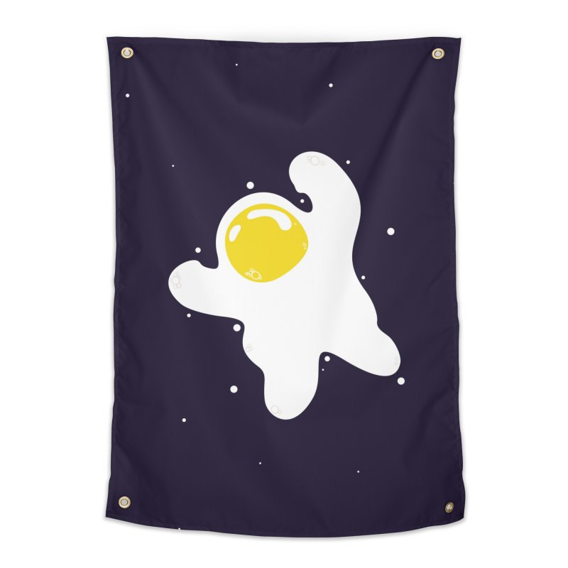 Fried Egg Odyssey Home Tapestry by Opippi