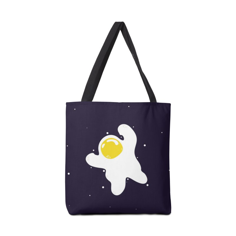 Fried Egg Odyssey Accessories Tote Bag Bag by Opippi