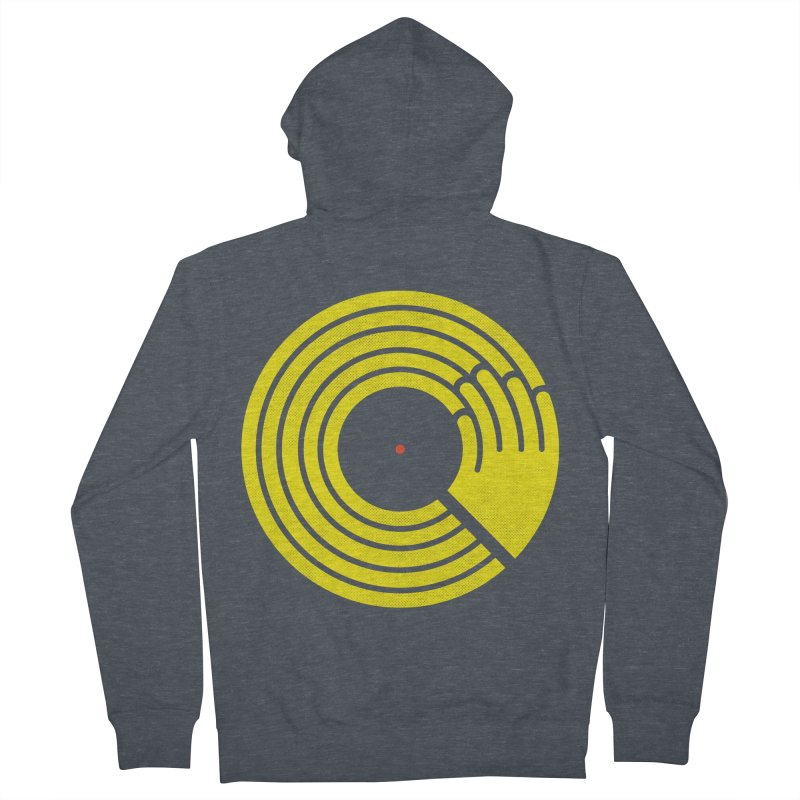 Bring the Noise Men's French Terry Zip-Up Hoody by Opippi
