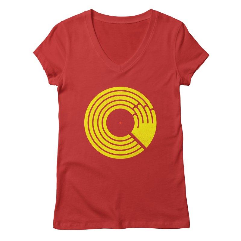 Bring the Noise Women's Regular V-Neck by Opippi