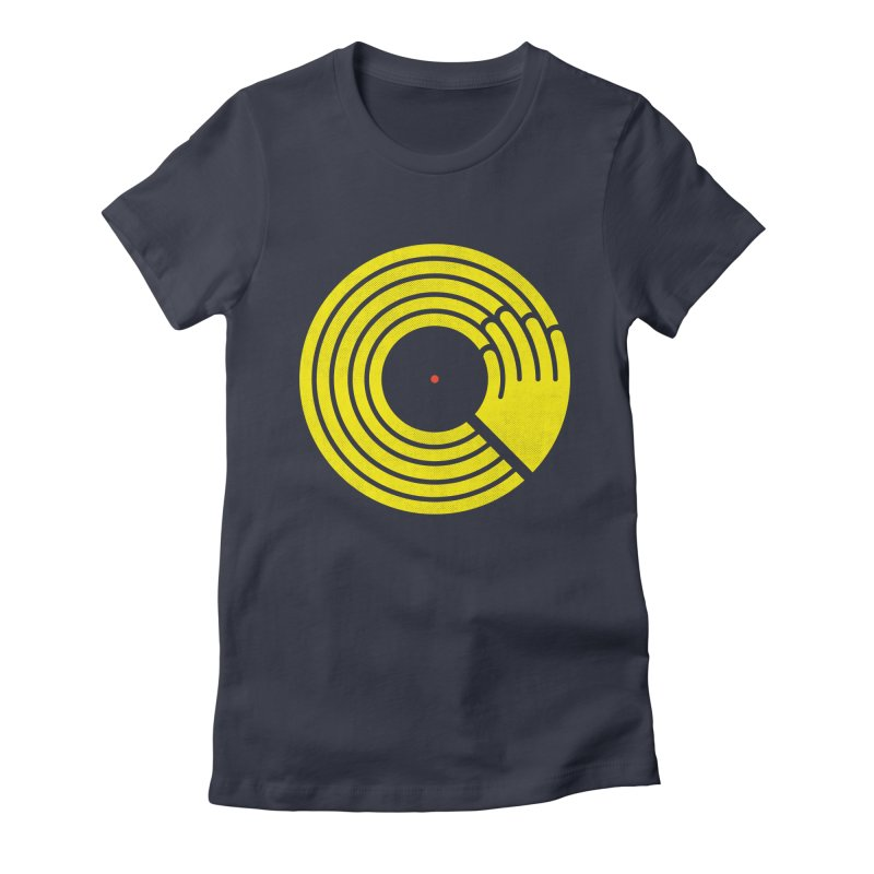 Bring the Noise Women's Fitted T-Shirt by Opippi