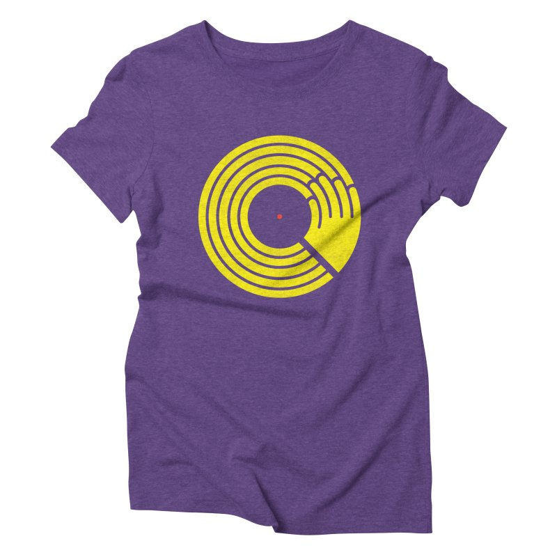 Bring the Noise Women's Triblend T-Shirt by Opippi