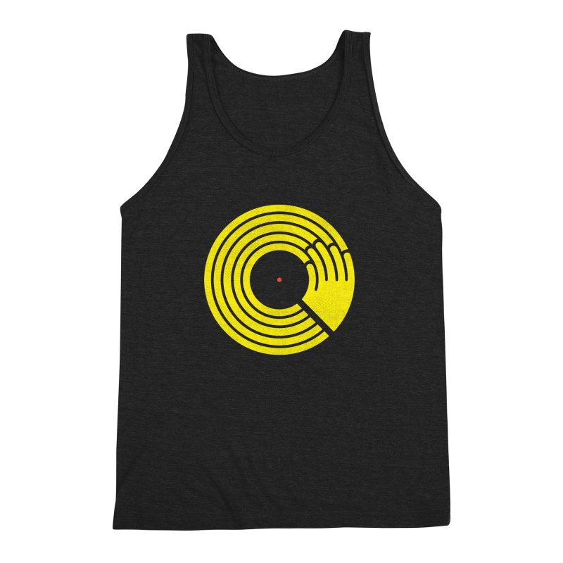 Bring the Noise Men's Triblend Tank by Opippi