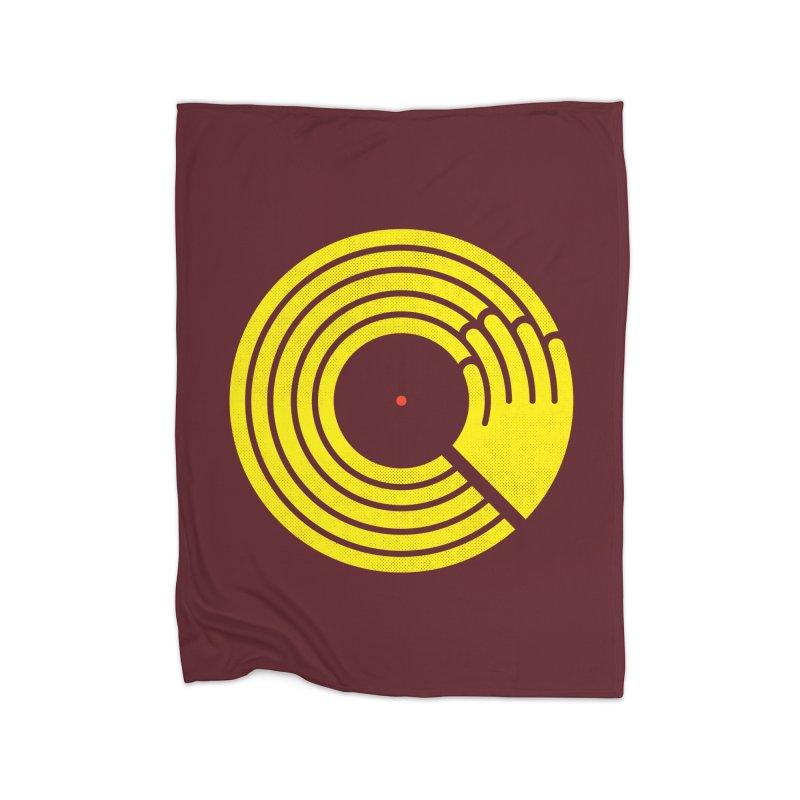 Bring the Noise Home Fleece Blanket Blanket by Opippi