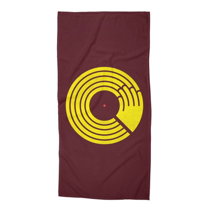 Bring the Noise Accessories Beach Towel by Opippi