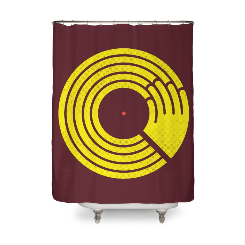Bring the Noise Home Shower Curtain by Opippi